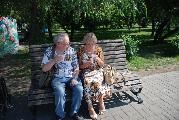 Автограф-сессия. Бахыт Кенжеев и Елена Овчаренко