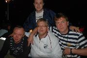 Александр Кабанов, Андрей Сизых, Алексей Остудин, сзади - Дмитрий Пожарский
