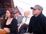 Артем Морс, Инга Седова, на заднем плане - Татяна Андрейко и Надежда Ярыгина