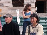 Артем Морс, на заднем плане - Светалана Михеева